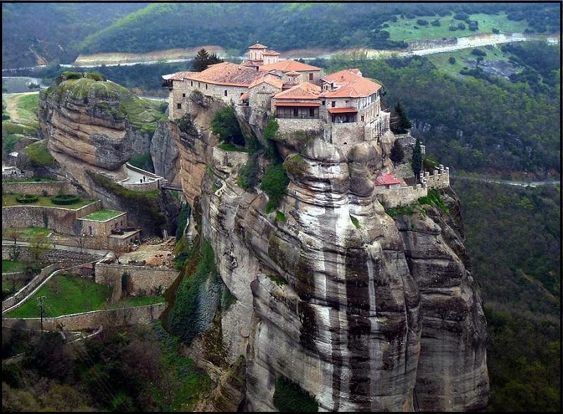 Самые красивые места мира. Монастыри Метеоры