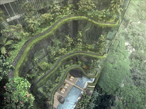 Что из себя представляют Висячие сады Амитис