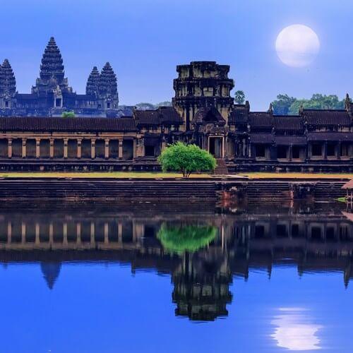 храм Ангор-Вар - это символ национальной гордости камбоджийского народа