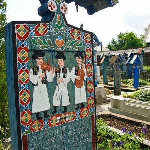 Достопримечательности Румынии. Веселое кладбище-2