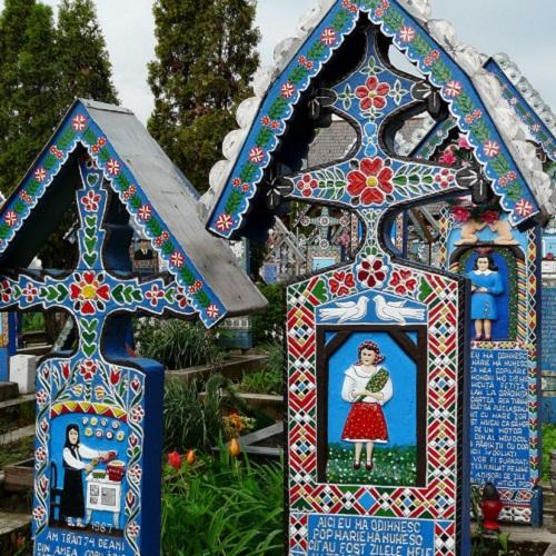 Достопримечательности Румынии. Веселое кладбище
