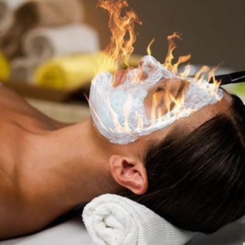 Косметические процедуры нестандартные на ощупь