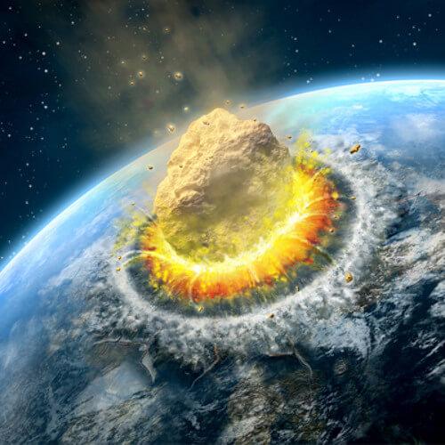 Астероиды упавшие на землю. Удар из космоса