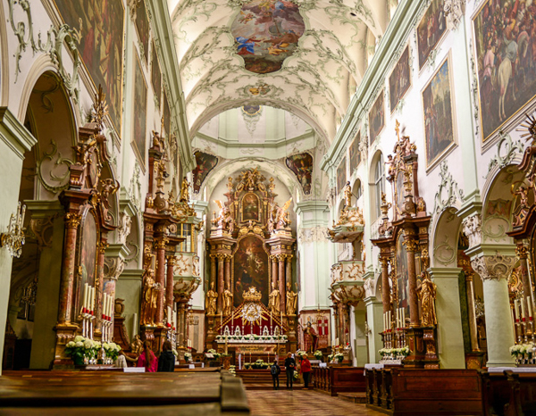 Достопримечательности Зальцбурга, Аббатство Святого Петра