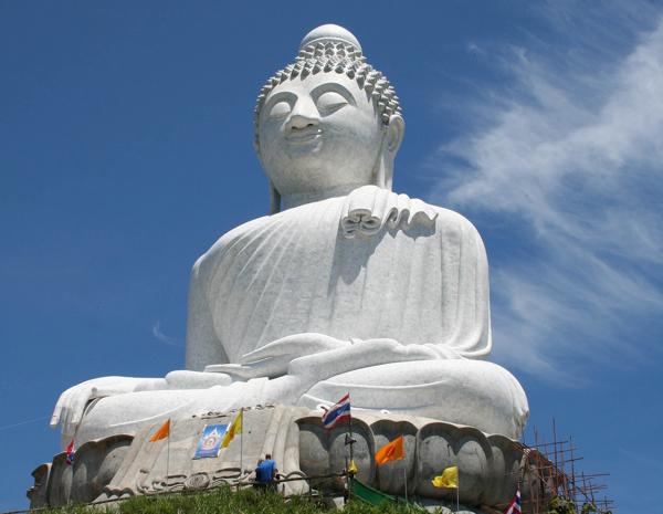 Пляжный отдых в ноябре, достопримечательности Таиланда, Большой Будда, статуя Большого Будды