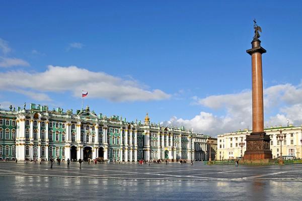 Здания в стиле барокко. Зимний дворец