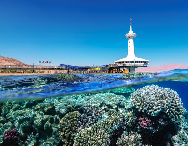 Подводная обсерватория Эйлат