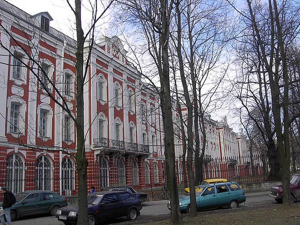 Здания в стиле барокко. Здание двенадцати коллегий