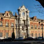 Здания в стиле барокко. Европейский стиль в русском исполнении