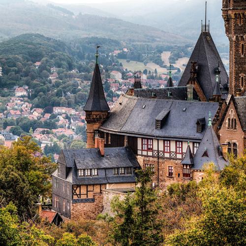 Гарц, Вернигороде, достопримечательности Германии, достопримечательности Гарца, замок Вернигороде