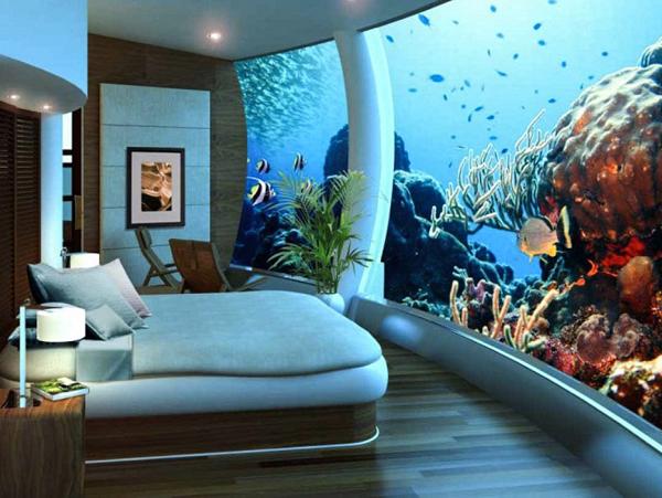 Необычные отели мира. Poseidon Undersea Resort, остров Фиджи