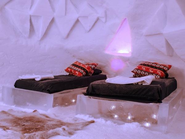 Необычные отели мира. Sorrisniva Igloo Hotel, Норвегия