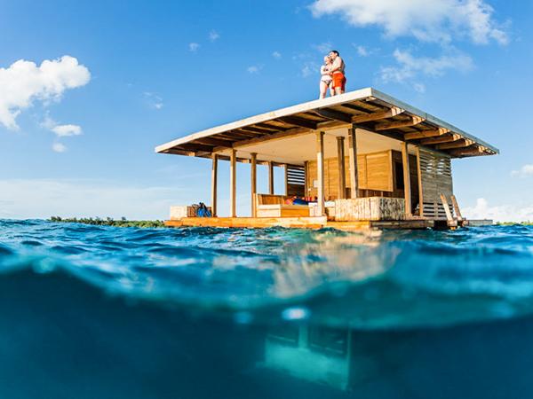 Необычные отели мира. The Manta Resort, Танзания