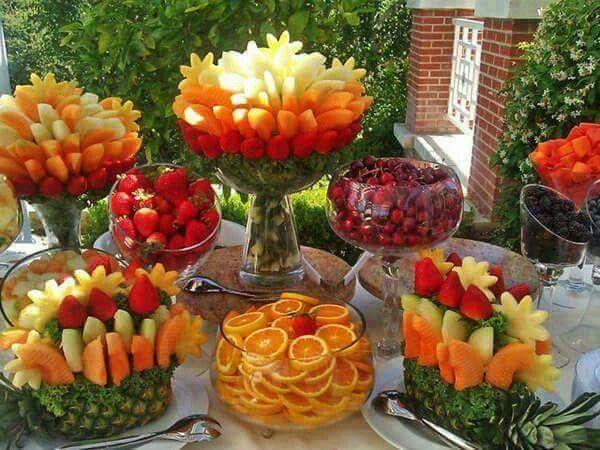 Полезные продукты питания. Ягоды и фрукты