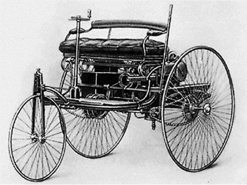 Первые автомобили. Трехколесный экипаж Кулибина