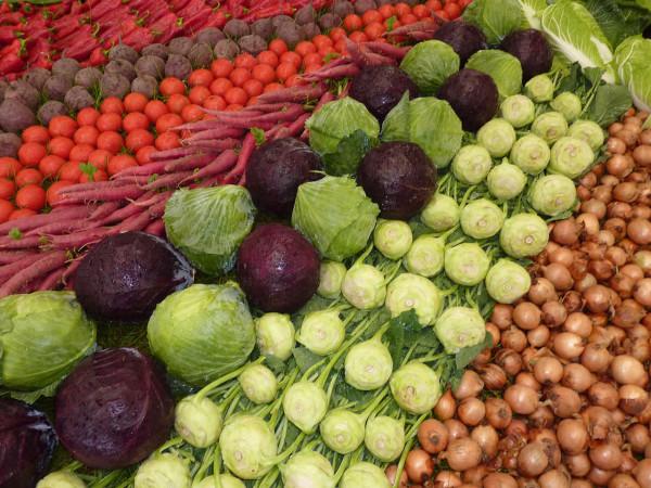 Полезные продукты питания. Овощи
