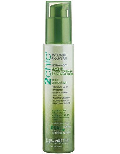 Средства для волос. Увлажняющий несмываемый кондиционер для волос Ultra-Moist Dual Action Protective, Giovanni