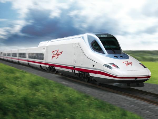 Скоростные поезда. AVE Talgo-350, Испания