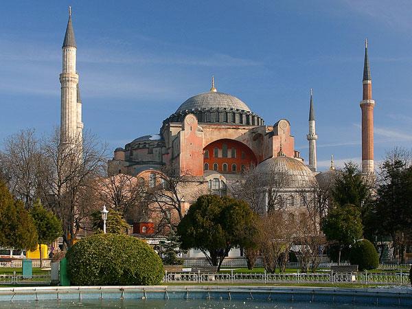 Достопримечательности Стамбула. Собор Святой Софии