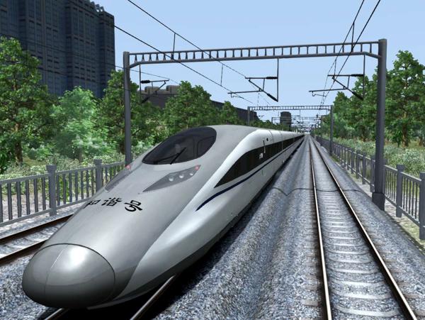 Скоростные поезда. CRH-380A, Китай