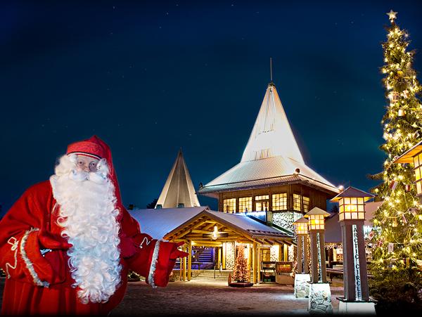 Достопримечательности Финляндии. Деревня Санта-Клауса и Санта-парк