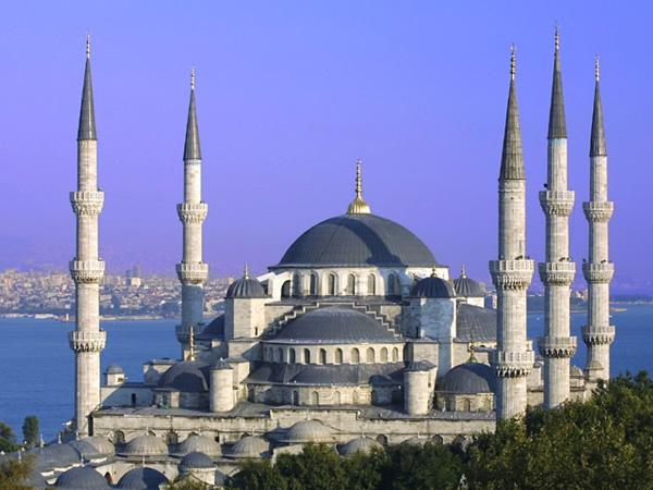 Достопримечательности Стамбула. Голубая мечеть