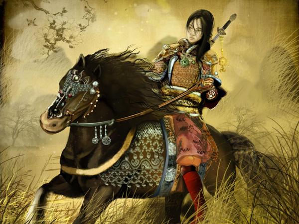 Известные женщины мира, выдававшие себя за мужчин. Хуа Мулань