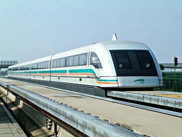 Скоростные поезда. Shanghai Maglev Train, Китай