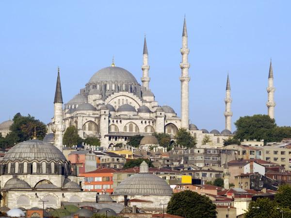 Достопримечательности Стамбула. Мечеть Сулеймание