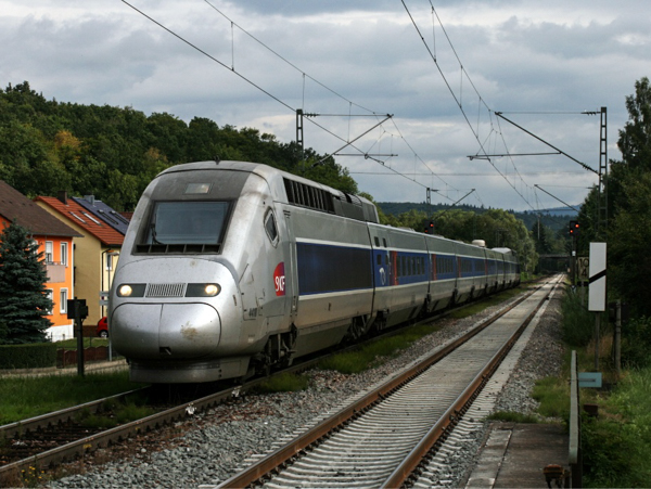 Скоростные поезда. TGV POS,Франция