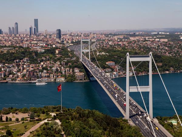 Достопримечательности Стамбула. Босфор и подвесные мосты