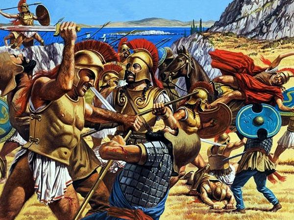 Греко-персидские войны. 490 г. до н.э. Марафонская битва
