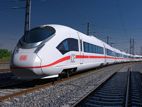 Скоростные поезда. InterCity Express, Германия