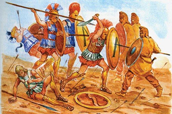 Греко-персидские войны. 499-493 гг. до н.э. Ионийское восстание