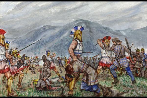Греко-персидские войны. 480-479 гг. до н.э. Поход Ксеркса