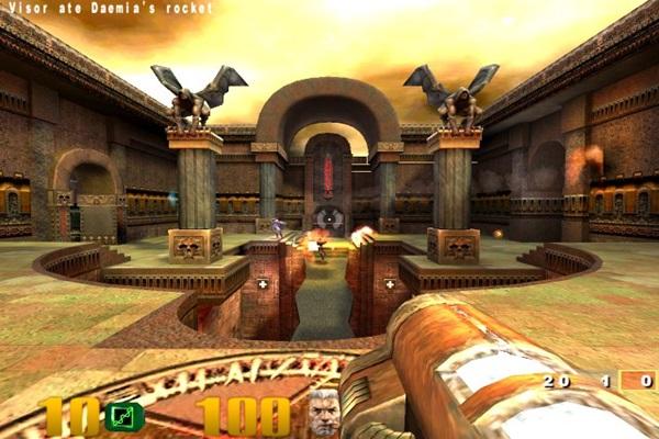 Компьютерные игры. №3 Quake 3: Arena