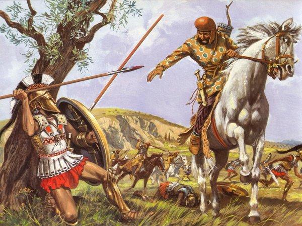 Греко-персидские войны. Марафонское сражение. Хитрость афинян
