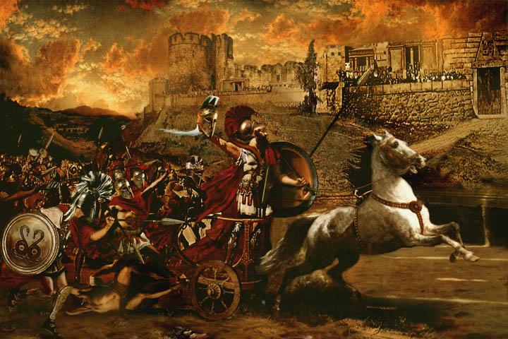 Причины войн. Троянская война