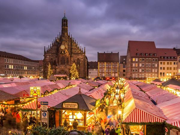 Рождественские ярмарки Европы. Nürnberger Christkindlesmarkt. Нюрнберг, Германия