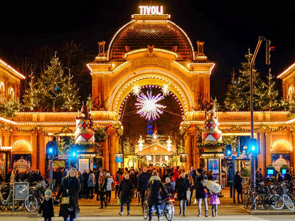 Рождественские ярмарки Европы. Tivoli. Копенгаген, Дания