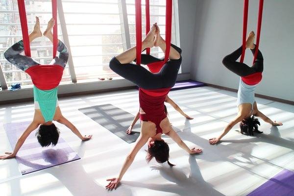 Виды йоги. Флай-йога