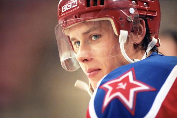 Звезды хоккея. Павел Буре