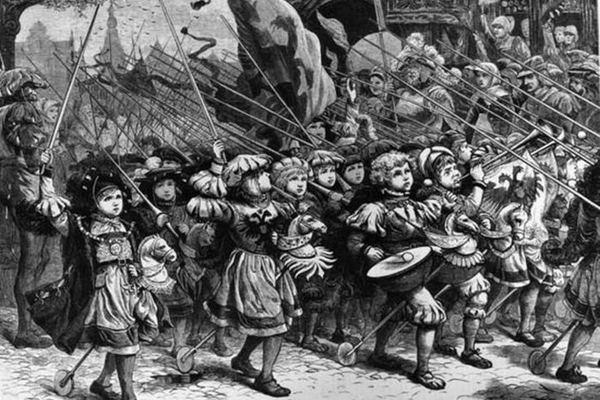 История крестовых походов. 1212 год. Детский поход
