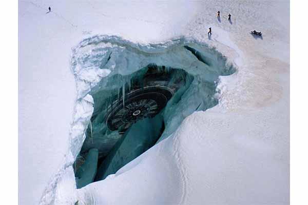 Тайны Антарктиды. База НЛО